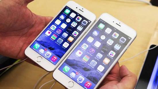 iPhone 6 heeft problemen met scherm