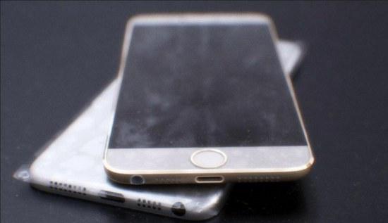 De iPhone 6 in levende lijve