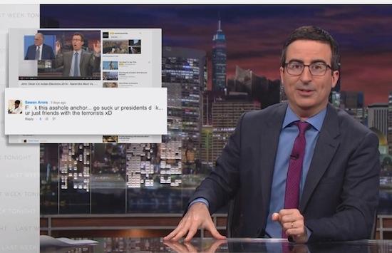 John Oliver gaat volledig Jon Stewart op de FCC