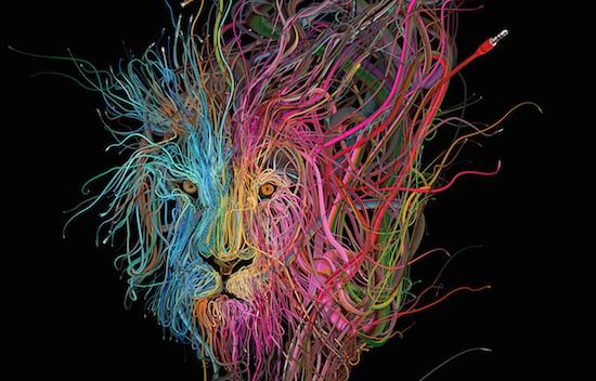 Zes Indrukwekkende Kunstwerken Gemaakt Van Kabels Apparata
