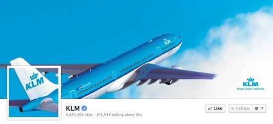 KLM snapt Facebook als geen ander
