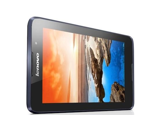 Lenovo kondigt vier nieuwe budgettablets aan