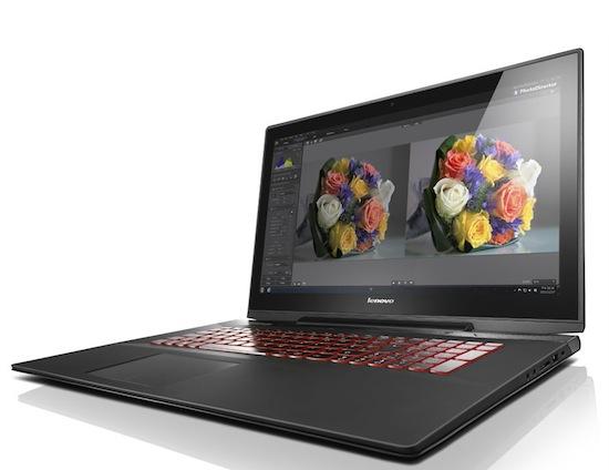 Lenovo presenteert strakke 17-inch gaminglaptop: Y70