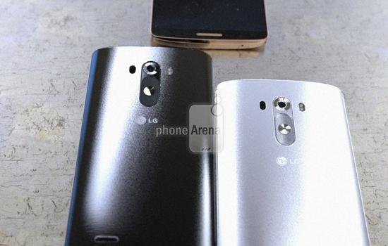 De LG G3 krijgt een afneembare plastic achterkant