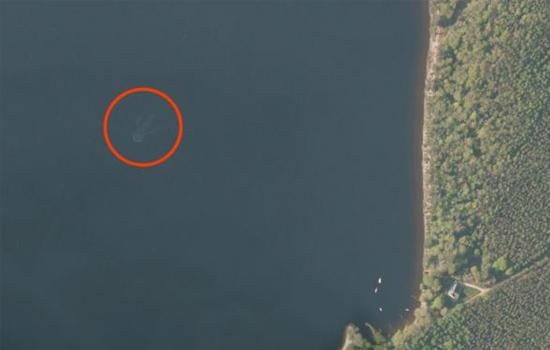 Loch Ness monster toch niet gevonden in Apple Maps