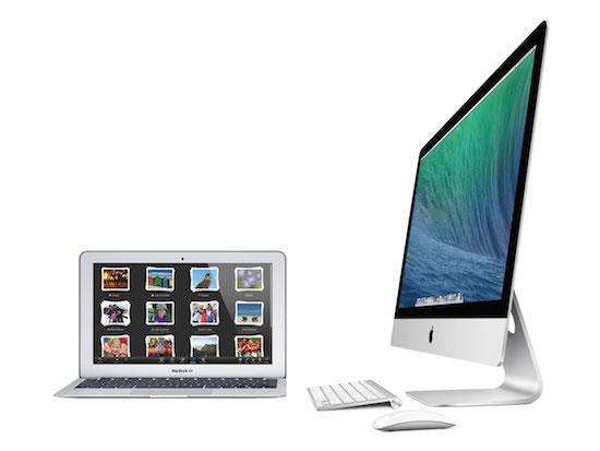 Macbook Air en iMac