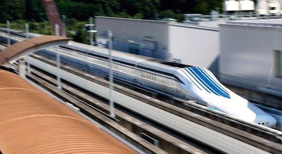 Japanse supertrein haalt 500 km/u in test