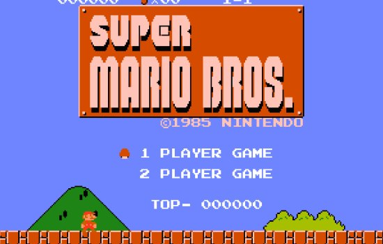 Super Mario uitspelen met de laagst mogelijk score