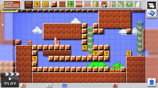 Met Mario Maker ontwerp je straks je eigen Mario levels