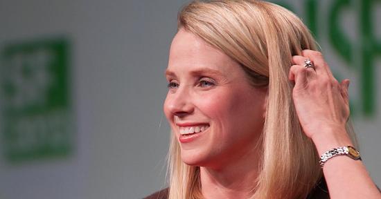 Marissa Mayer - CEO van Yahoo