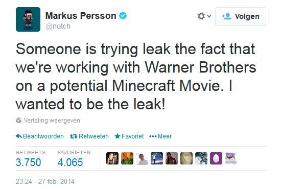 Markus Persson tweet