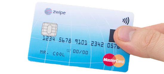 MasterCard voorziet creditcards van vingerafdrukscanner