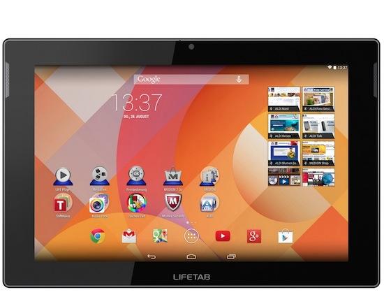 Aldi verkoopt 10-inch Medion tablet voor €189
