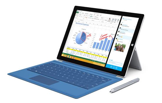 Surface Pro 3 van Microsoft komt eraan