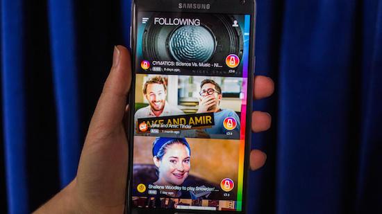 Nieuwe Samsung-app laat je viral video