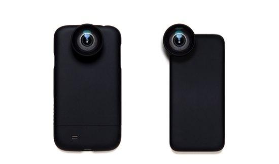 Deze cameralens schroef je op je smartphone