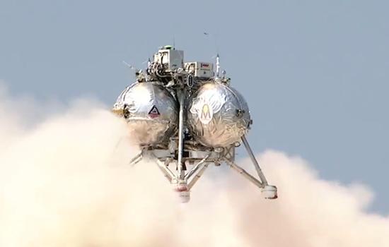 NASA maakt succesvolle vlucht met zijn Morpheus Lander
