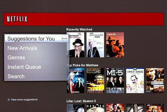 Netflix Suggesties