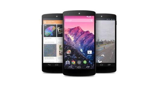 Concept van de Nexus 6