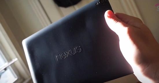 De Nexus 9 barst van de schoonheidsfoutjes