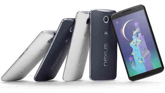 Nexus 6 verkoopt binnen paar minuten uit