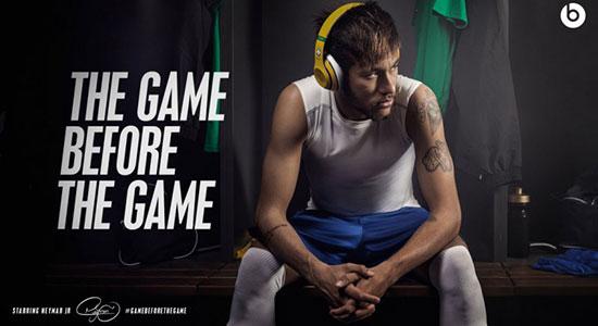 Neymar in een promo voor Beats