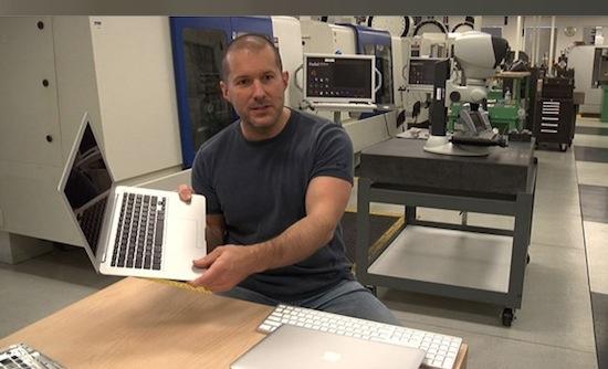 Apple-ontwerper hint naar nieuwe materialen