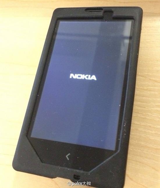 Prototype van Nokia's Androdi-telefoon uitgelekt