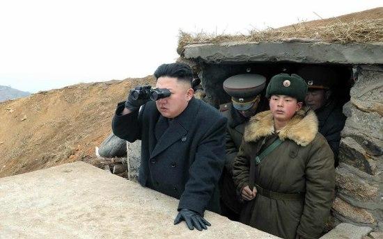 Microsoft Kinect beveiligt grensovergang Noord-Korea