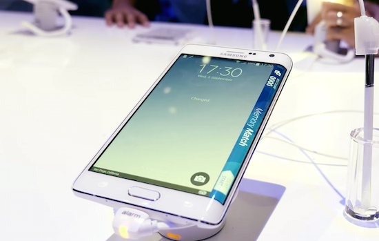 Samsung Galaxy Note Edge gaat hier €900 kosten