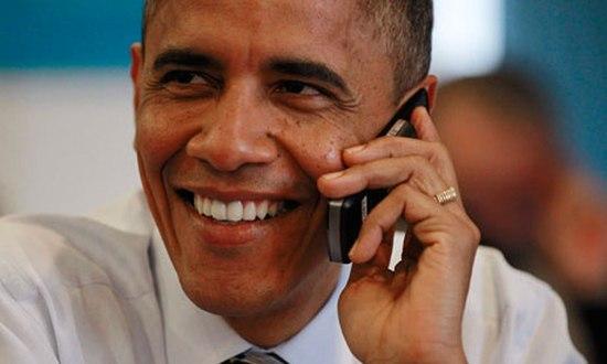 Obama blijft voorlopig bij zijn vertrouwde Blackberry