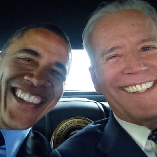 Joe Selfen en Barack Obamfie