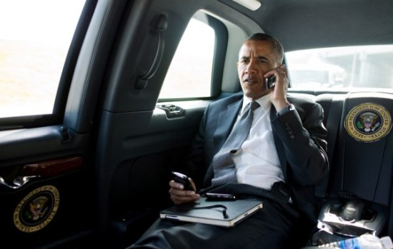 Stapt Obama over van Blackberry naar Android?