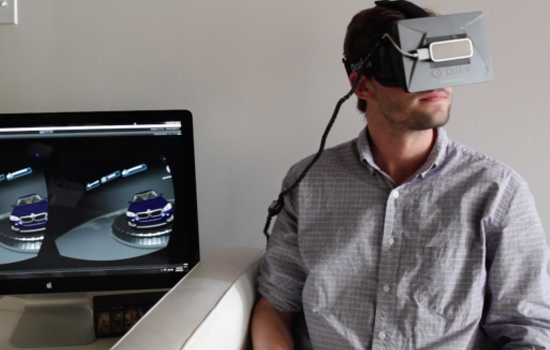 Met de Oculus Rift zoek je straks je auto gewoon thuis uit