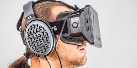 Oculus Rift-drager