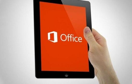 Microsoft Office voor de iPad komt deze week nog