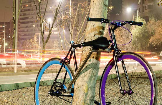 Waarom denkt iedereen dat deze fiets niet gestolen kan worden?