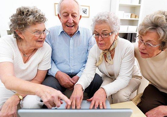 Ouderen op Facebook