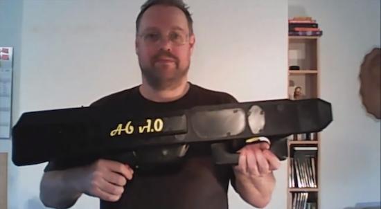 Duitser is creatief met 3D-printer