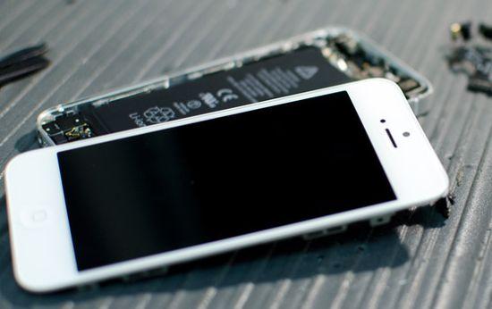 iPhone reparateurs vallen flauw tijdens werkzaamheden