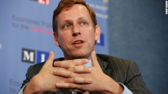 Peter Thiel - Facebook en Paypal