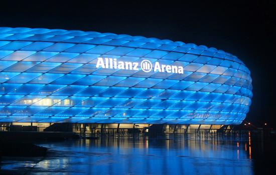 Philips gaat 384.000 ledjes vervangen in de Allianz Arena