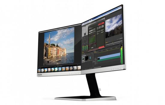 twee-in-een monitor van Philips is perfect voor multitasken