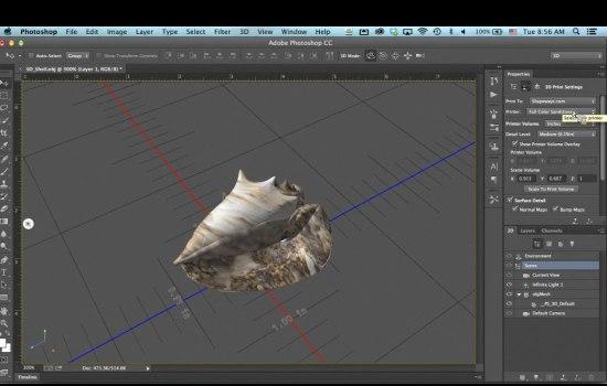 Adobe Photoshop krijgt 3D-toepassingen