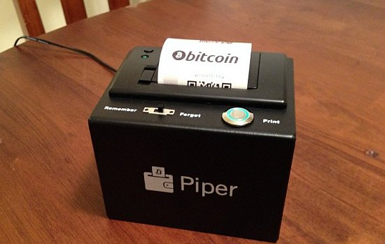 PiperWallet printer