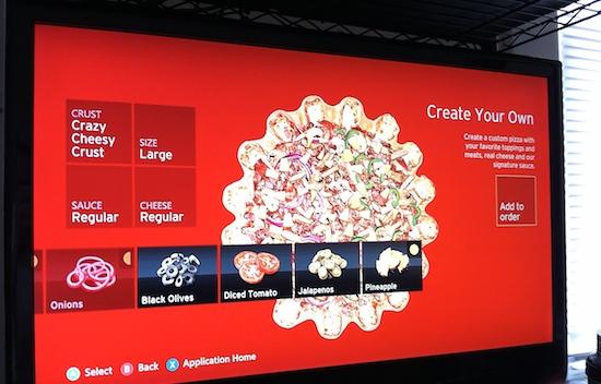 Pizza Hut verkoopt voor $1 miljoen via Xbox 360 app