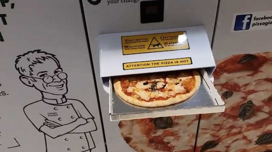Pizza-automaat