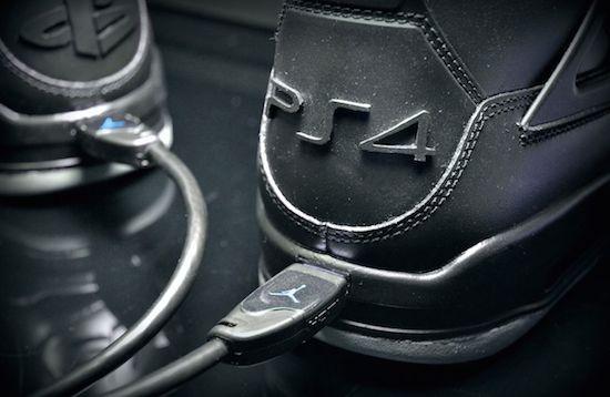 Deze sneakers zijn een ode aan de PS4, inclusief HDMI-poort