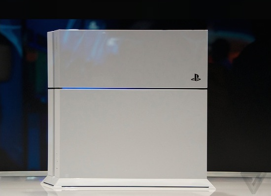 Playstation 4 in het wit