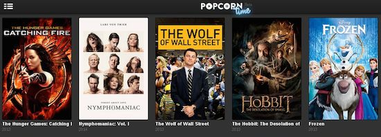 Popcorn Time voor Android
